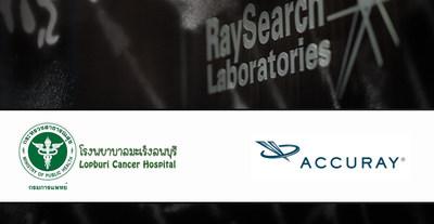 Lopburi Cancer Hospital成为亚太区首家使用RayStation和Radixact为患者提供治疗的医院