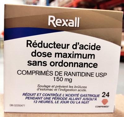 Rexall (Groupe CNW/Santé Canada)
