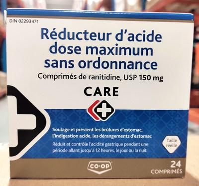Co-op Care+ (Groupe CNW/Santé Canada)
