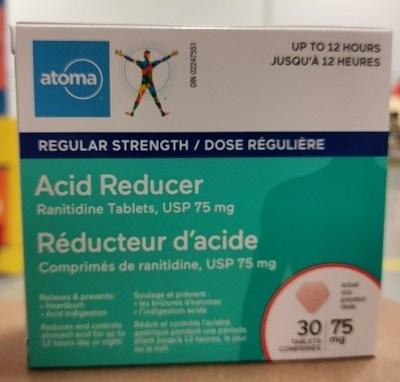 Atoma (Groupe CNW/Santé Canada)