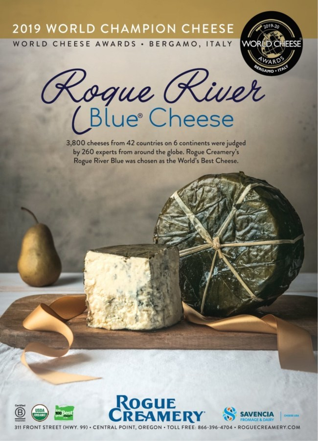 Rogue River Blue: 2019 World Cheese Awards Champions