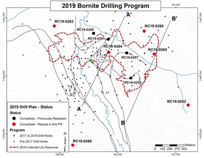 Figure 1 - Map Showing Location of 2019 Drilling Program at Bornite (CNW Group/Trilogy Metals Inc.)