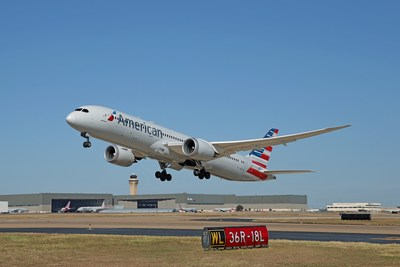 Non-stop service between DFW Airport and Auckland will be served by American Airlines' 787-9 aircraft