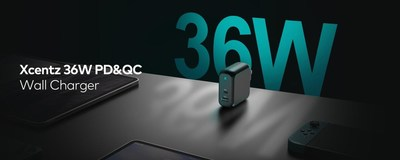 The Days of Charging in Ordinary Speed are Gone: Xcentz Launches 36W Fast Charging Wall Charger