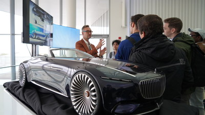 Stefan Lamm, Daimler at the Mercedes-Benz Student Experience Day held at MIT Media Lab