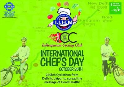 Cyclothon from IIHM Delhi to IIHM Jaipur