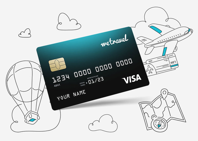 WeTravel pre-paid credit card