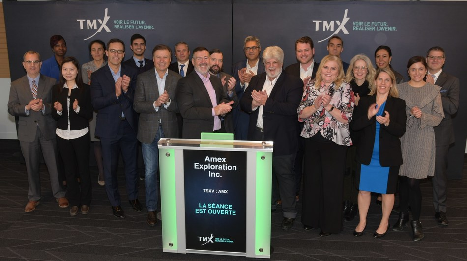 Amex Exploration Inc. Opens the Market (CNW Group/TMX Group Limited)
