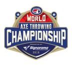 Signarama Announces Title Sponsorship Of World Axe Throwing Championship
