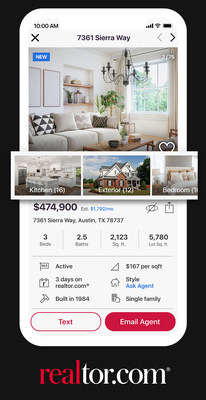 Home shoppers can quickly hone in on the photos that are most important to them by simply selecting a feature category.