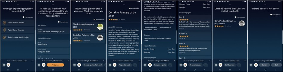 HOMEADVISOR LAUNCHES HOMESERVICES CAPSULE IN SAMSUNG'S BIXBY MARKETPLACE