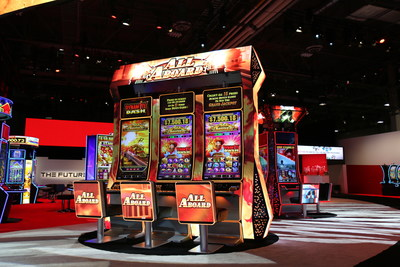 Gaming industry encounters an exciting lineup of future casino technology from Konami