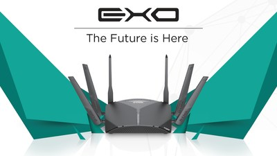 D-Link's new Exo lineup offers customizable mesh networks with a built-in security suite powered by McAfee.