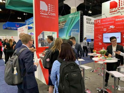 SIMCom attended MWC19 in Los Angeles