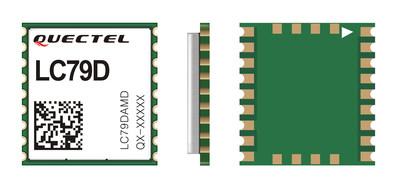 Módulo GNSS LC79D de Quectel