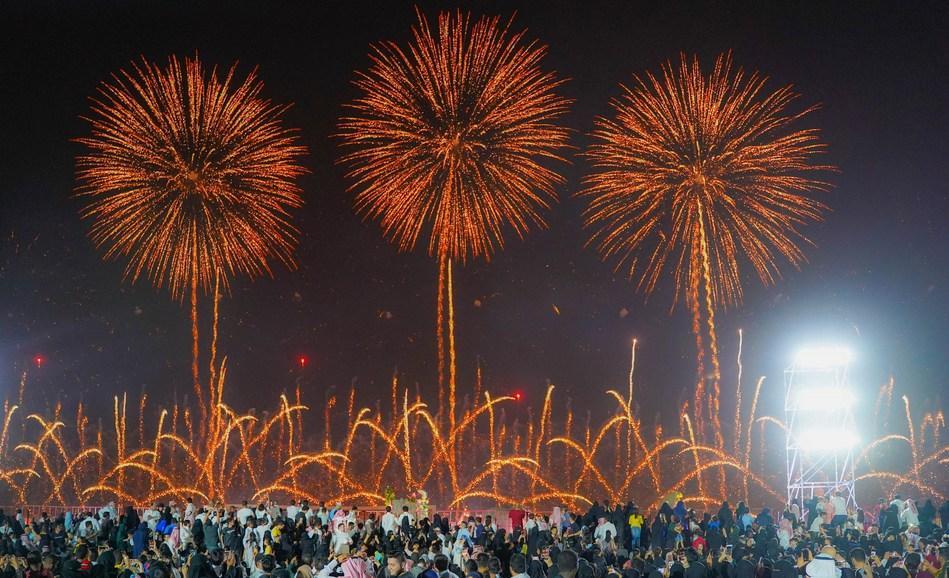 Riyadh Season Fireworks