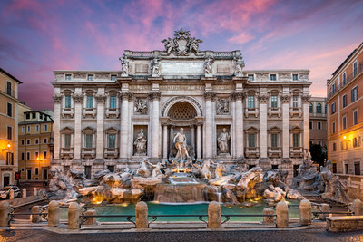 WestJet announced that Western Canadians looking to visit Rome, Italy will now have seasonal non-stop service on the airline's state-of-the-art Dreamliner, starting May 2, 2020. (CNW Group/WESTJET, an Alberta Partnership)