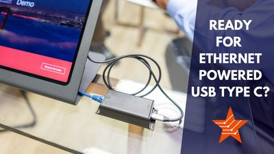 Connect your USBC devices to your IP network.