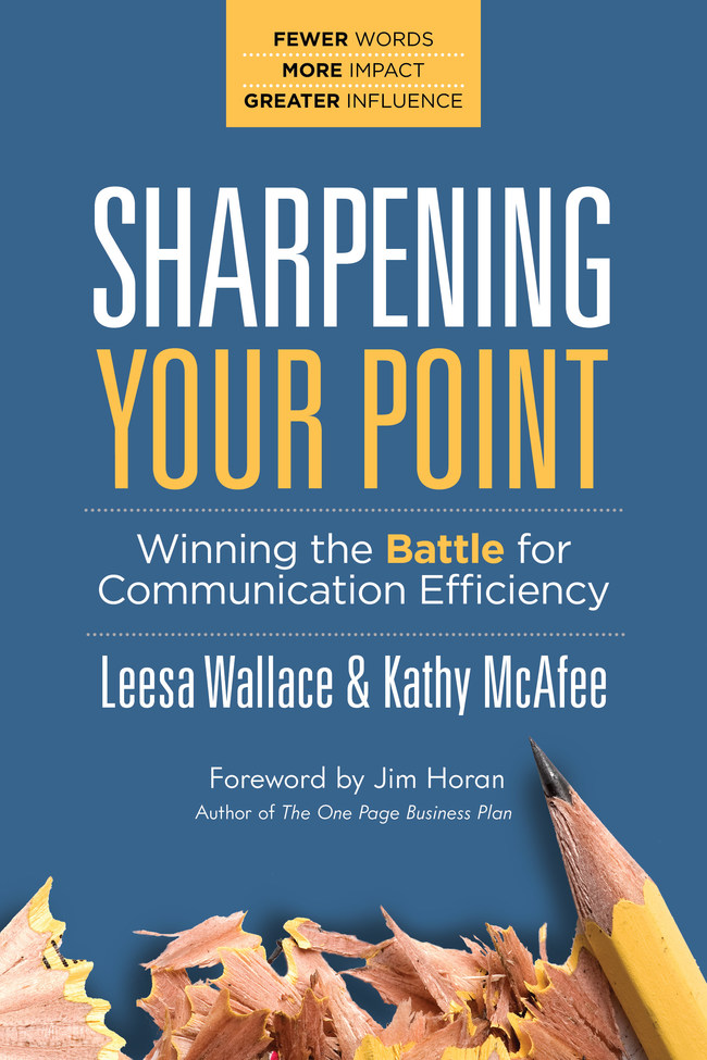 Sharpening Your Point book cover