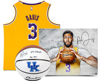 Upper Deck Authenticated Bolsters Impressive Basketball Lineup With Anthony Davis Multi-Year Exclusive Autographed Memorabilia and Collectibles Deal