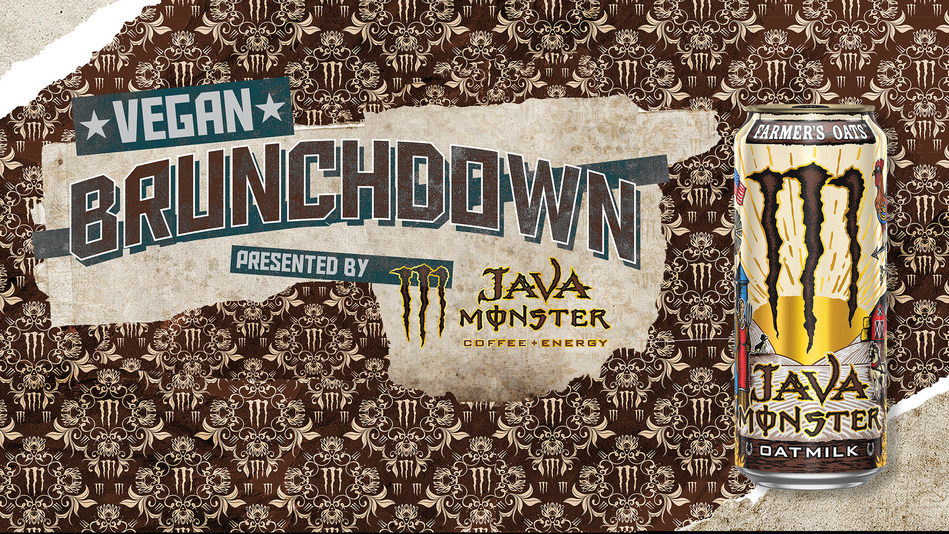 Java Monster is inviting Southern California Monster fans to its 'Vegan Brunchdown' Launch Party in Los Angeles.