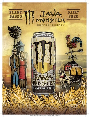Java Monster Releases First Oatmilk Energy Drink That is 100% Vegan