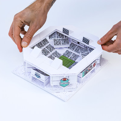 Arckit Sports, the World's 1st Multi-Stadium Model Building Kits