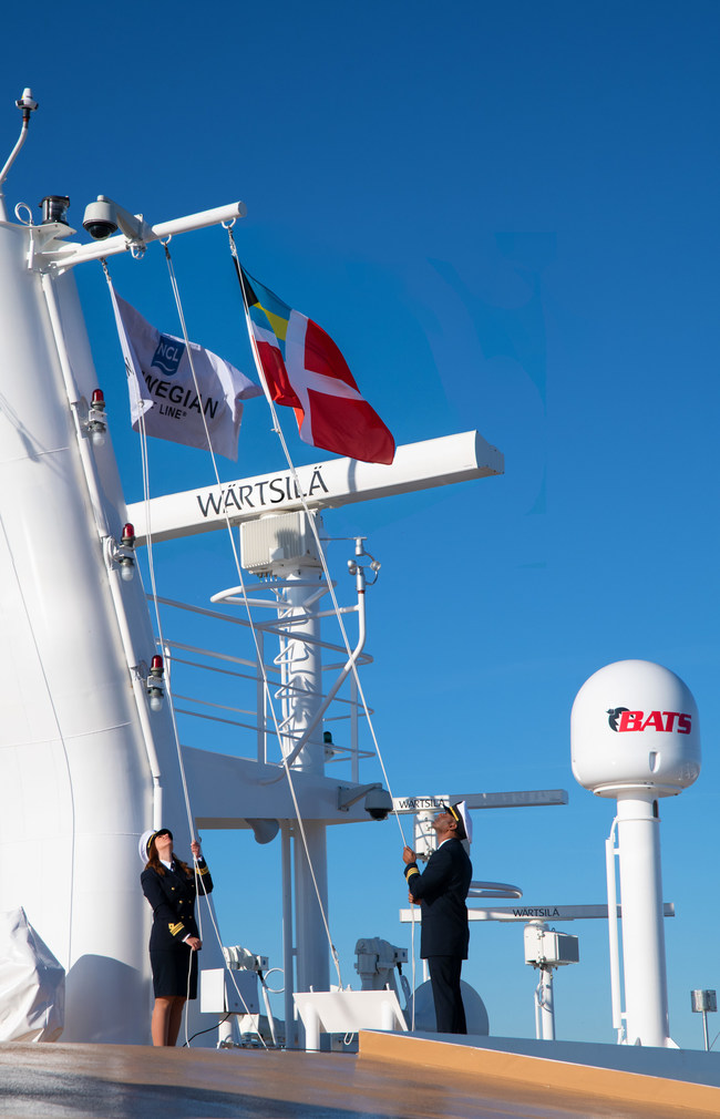Norwegian Encore joins the Norwegian Cruise Line fleet.