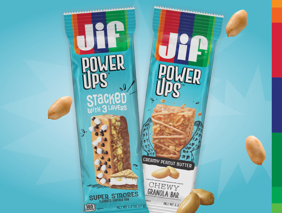 Smucker Away From Home Launches New Jif® Power Ups® in C-Store Segment