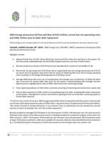 MEG Energy 3Q2019 News Release (CNW Group/MEG Energy Corp.)