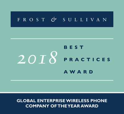 Ascom Commended by Frost & Sullivan for Dominating the Enterprise Wireless Phone Market with 20 Percent of the Shipment Share