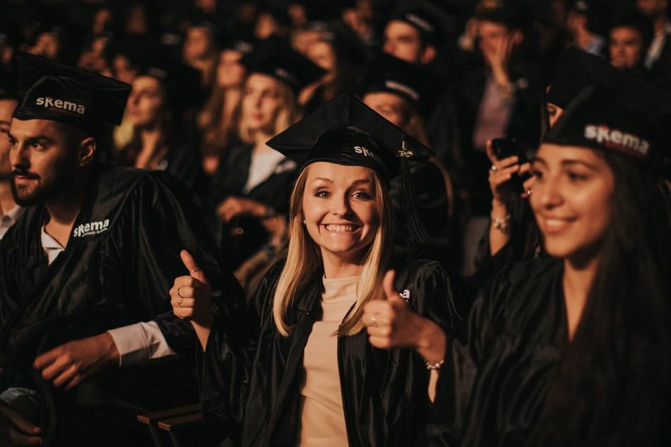 Abschlusszeremonie der SKEMA Business School