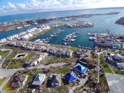 The Swift Engineering UAS Team captures images of the rebuilding efforts in seaside communities.