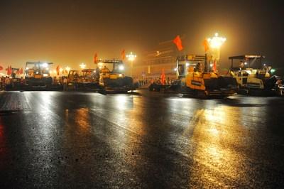 L'asphalte « Donghai » de Sinopec est le matériau de prédilection pour plusieurs des grands projets de Chine, notamment l'avenue Chang'an à Beijing.