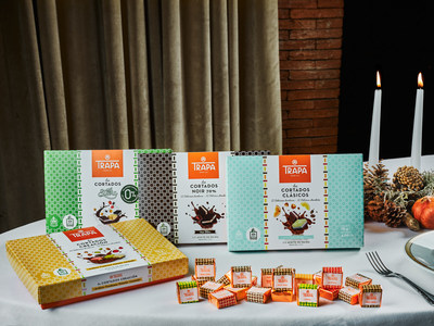 New Trapa's Cortados chocolates without palm oil