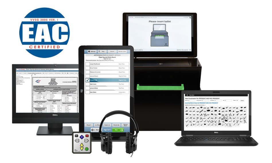 ClearVote Suite with EAC Seal