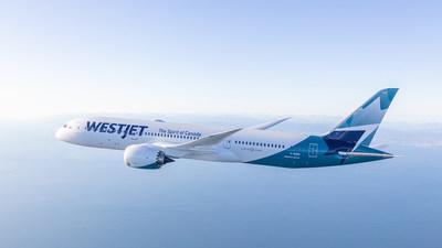 WestJet's Boeing 787 Dreamliner (CNW Group/WESTJET, an Alberta Partnership)
