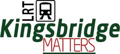 Unveiling artistic monstrosity to protest Metrolinx transformer (CNW Group/Kingsbridge Matters)