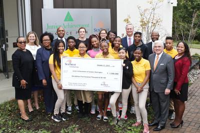 SunTrust Foundation Awards $1.5 Million Grant to Junior Achievement of Greater Washington to Support JA Finance Parks.