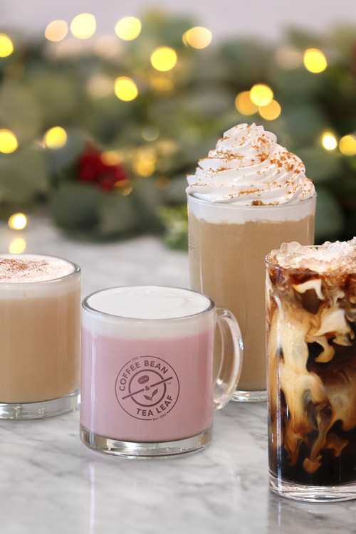 The Coffee Bean & Tea Leaf Introduces its Holiday Seasonal Menu