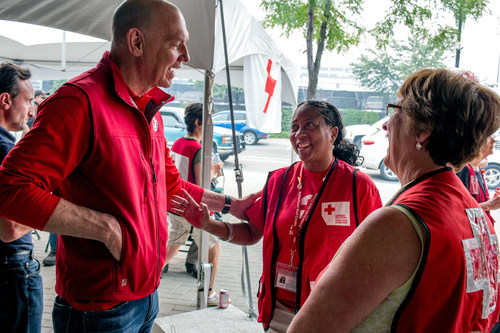 Economical Insurance is proud to renew its national partnership with the Canadian Red Cross to support Canadians affected by severe weather events — bringing its total national contribution to $1,050,000 since 2013. (CNW Group/Economical Insurance)
