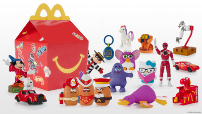 They're Back! McDonald's Introduces the Limited-Edition Surprise Happy Meal Featuring Iconic Throwback Toys from the Past 40 Years
