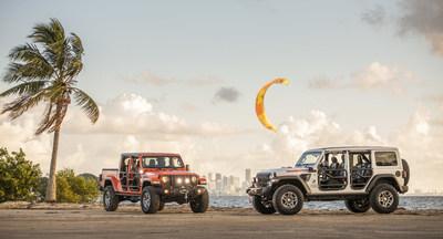 """Jeep presenta los modelos Wrangler y Gladiator edición especial """"Three O Five"""" en el Salón de Miami"""