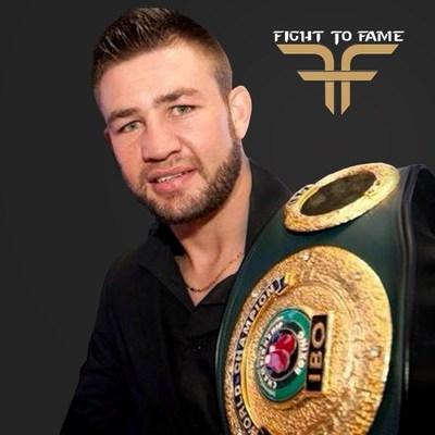 Chris Van Heerden joins Fight to Fame as an ambasssador