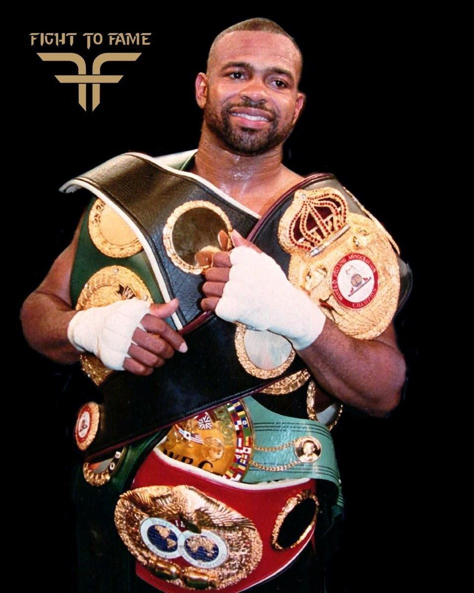 Roy Jones Jr. joins Fight to Fame as an ambassador