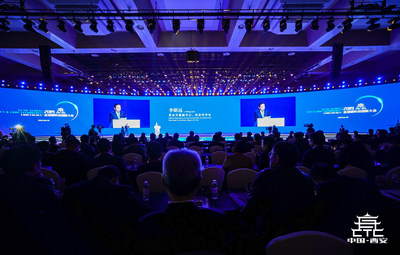 Scene of the 2019 Xi'an Global Key & Core Technology Conference