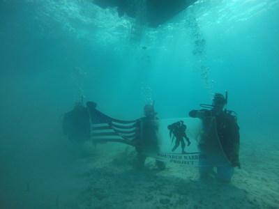 veterans scuba dive to combat PTSD