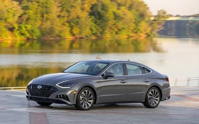 2020 Hyundai Sonata Begins Production (PRNewsfoto/Hyundai Motor America)