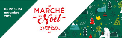 Le Marché de Noël au Musée de la civilisation, du 22 au 24 novembre 2019 (Groupe CNW/Musée de la civilisation)