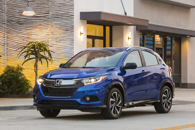 American Honda October sales gained across divisions as trucks broke numerous records for both Honda and Acura brands. Honda trucks set a new October record, with HR-V setting an all-time monthly mark, while Acura trucks also set a new October record. (PRNewsfoto/American Honda Motor Co., Inc.)